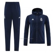 Chandal con Capucha del Real Madrid 2020-2021 Azul
