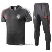Chandal del Real Madrid Manga Corta 2020-2021 Gris