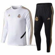 Chandal del Real Madrid Nino 2019-2020 Blanco