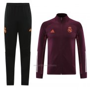 Chandal de Chaqueta del Real Madrid 2020-2021 Rojo