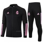 Chandal de Chaqueta del Real Madrid 2020-2021 Negro