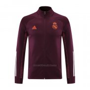 Chaqueta del Real Madrid 2020-2021 Rojo