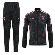 Chandal de Chaqueta del Real Madrid 2021 Negro