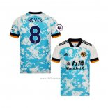 Camiseta Wolves Jugador Neves Segunda 2020-2021