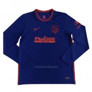 Camiseta Atletico Madrid Segunda Manga Larga 2020-2021
