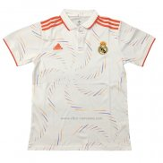 Camiseta Polo del Real Madrid 2020-2021 Blanco