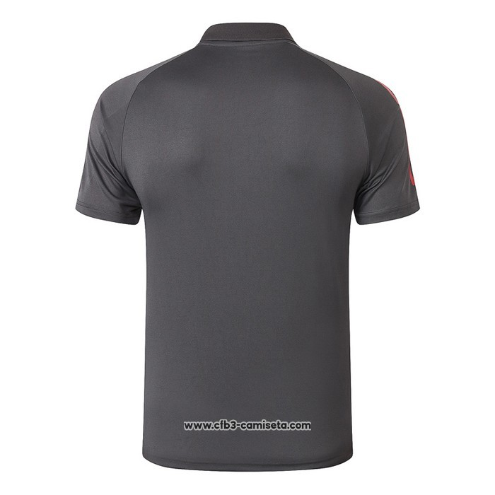 Camiseta Polo del Real Madrid 2020-2021 Gris