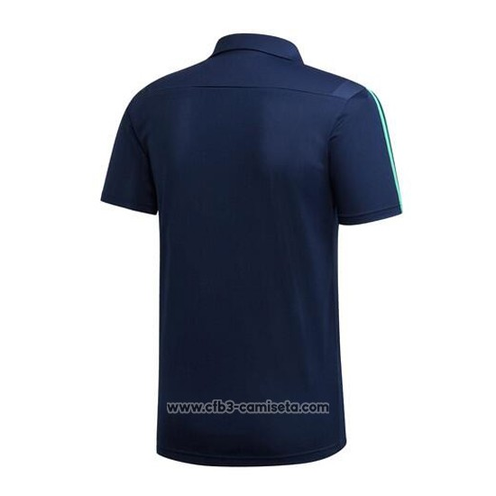 Camiseta Polo del Real Madrid 2019-2020 Azul Oscuro