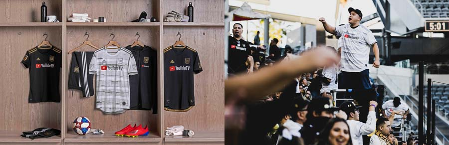 camisetas futbol Los Angeles FC